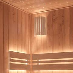 Sauna verlichting